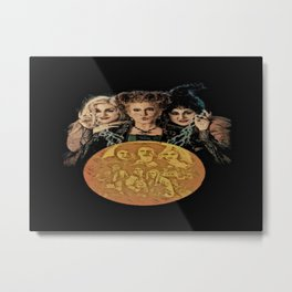 Hocus To The Pocus Metal Print