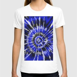 Dark Blue Tie Dye T-shirt