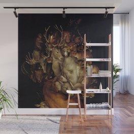 "Giuseppe Arcimboldo ""Four elements - Earth"" Wall Mural"