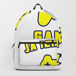 Ja ich hab ne Gaming Lizenz with Gamepad Backpack