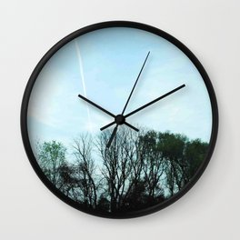Rise your head Wall Clock