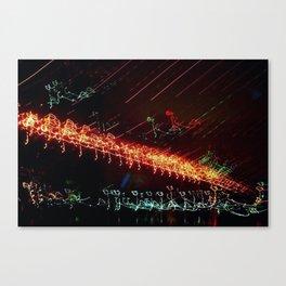 Brooklyn Night View Canvas Print