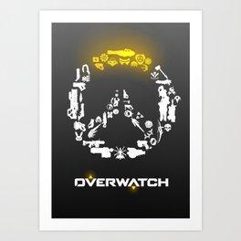 Heroes need weapons Art Print