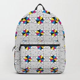 CMYK Star Wheel Backpack