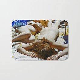 Nude Friends  Bath Mat