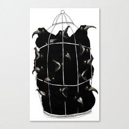 Four and Twenty Blackbirds Canvas Print