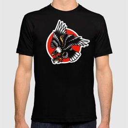 American traditional eagle T-shirt