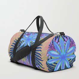 A Run Through the Jungle Blues Duffle Bag