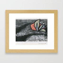 Designing His Exterior World Framed Art Print