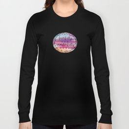 Christian Fearfully and Wonderfully Made Religious Long Sleeve T-shirt