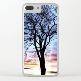 The Lovely Tree Clear iPhone Case