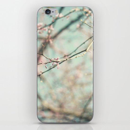 spring #3 (cool bleu) iPhone & iPod Skin
