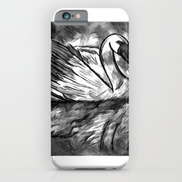 Swan Reflection  iPhone Case