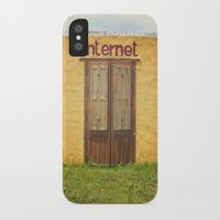 internet iPhone & iPod Cases featuring Internet by Nina's clicks