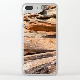 Redgum Sleepers Clear iPhone Case