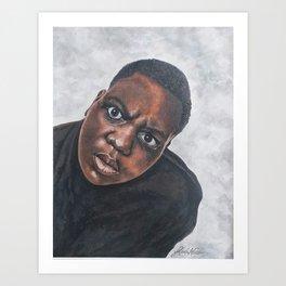 Notorious B.I.G. Art Print