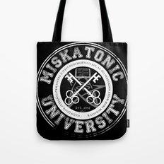 Miskatonic University Emblem (Dark version) Tote Bag