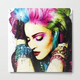 Madonna Pop Start Metal Print