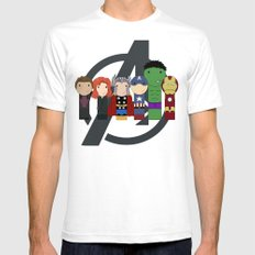 Assemble!  Mens Fitted Tee White SMALL