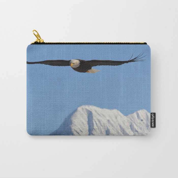 Bird's Eye View! Carry-All Pouch