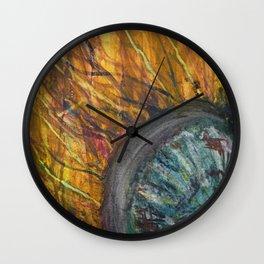 Dark Jellyfish Wall Clock
