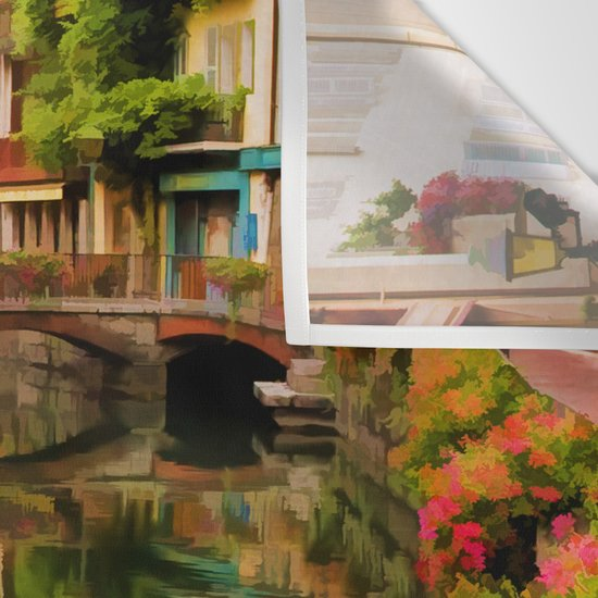 Annecy France Grande Tapestry Wall Hanging Fabric