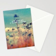 Nature Does Not Hurry Stationery Cards