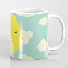 sunshine in clouds Mug