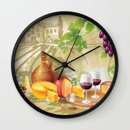 Wine and winery #6 Wall Clock