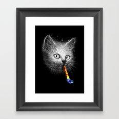 Slurp Party Framed Art Print