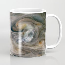 Luminous clouds of Jupiter mission flyby telescopic photograph Coffee Mug