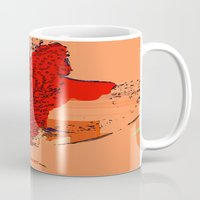 the lion king Mugs featuring Lion King by Avigur