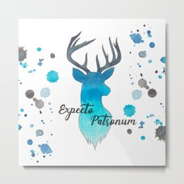 Expecto Patronum Metal Print