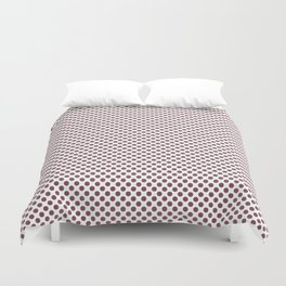 Crushed Berry Polka Dots Duvet Cover