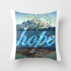 HOPE (1 Corinthians 13:13) Throw Pillow
