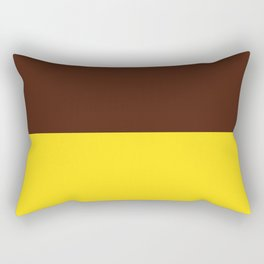 Choc Banana Rectangular Pillow