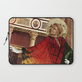 St. Francis of Assisi Modeling Halston Laptop Sleeve