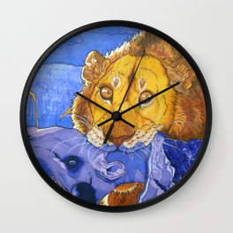 Complimentary Killer Wall Clock