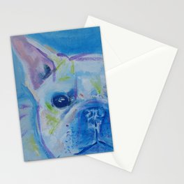 rescue dog 1 Stationery Cards