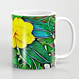Yellow Flower of Expanded Frequency Coffee Mug