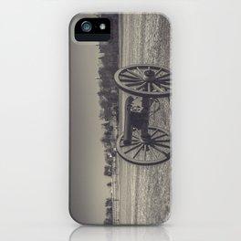 Artillery Placement Gettysburg National Military Park Pennsylvania Civil War Battlefield  iPhone Case