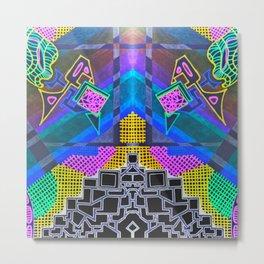 Abstract 2B Metal Print