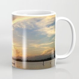 Sitting on the Dock Coffee Mug