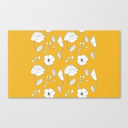 jaune Canvas Print