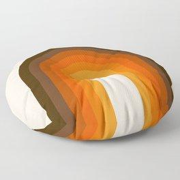 Golden Rainbow Floor Pillow