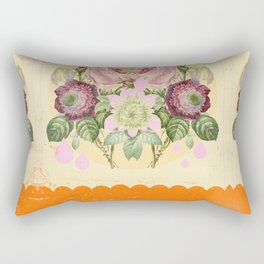 PSYCHEDELIC FLOWERS Rectangular Pillow