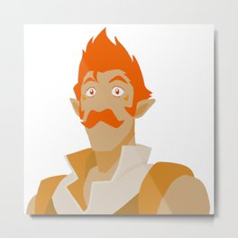 Orange Coran - Voltron Legendary Defender Metal Print