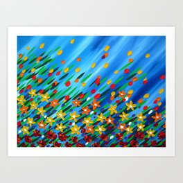 Meadow in the Breeze Art Print