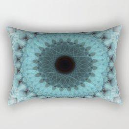 Frozen Mandala Rectangular Pillow