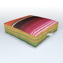 BEAUTIFUL MEXICAN SERAPE Outdoor Floor Cushion